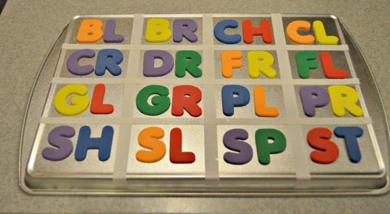 letter blends